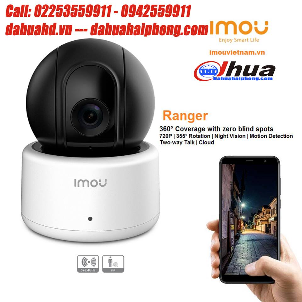 Camera IP Wifi Dahua IPC-A12P 1.0 Megapixel